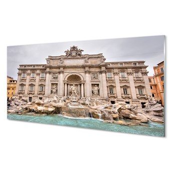 Obrazy akrylowe Rzym Fontanna bazylika