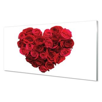 Obrazy akrylowe Serce z róż