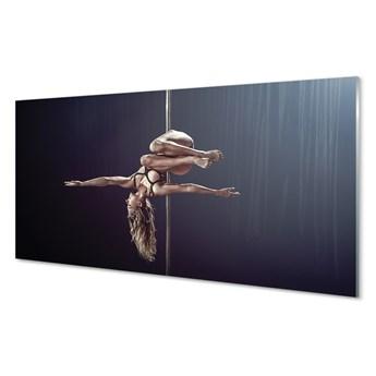 Obrazy akrylowe Taniec rura kobieta