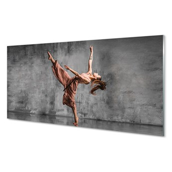 Obrazy akrylowe Kobieta długie włosy taniec