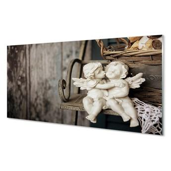 Obrazy akrylowe Całujący anioł