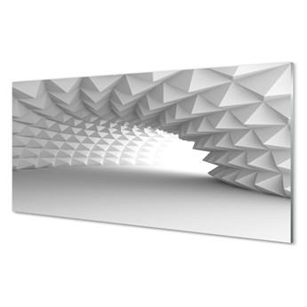 Obrazy akrylowe Tunel w stożki 3d