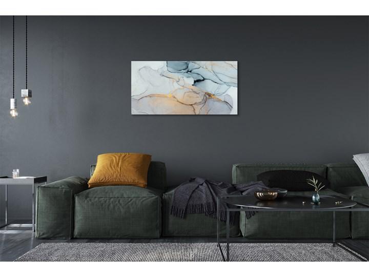 Obrazy na płótnie Kamień abstrakcja plamy Kolor Szary Wymiary 60x120 cm
