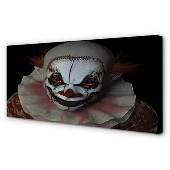 Obrazy na płótnie Straszny klaun