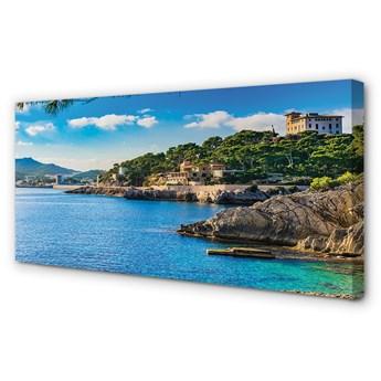 Obraz na płótnie Hiszpania Morze wybrzeże góry
