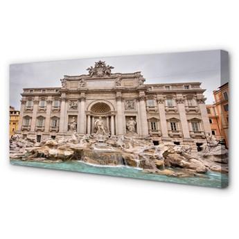 Obrazy na płótnie Rzym Fontanna bazylika