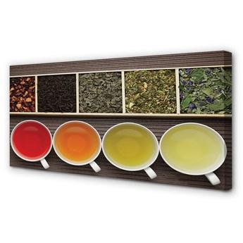 Obraz na płótnie Herbaty zioła