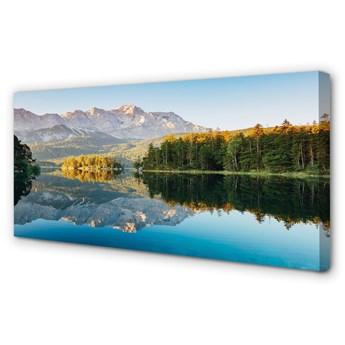 Obraz na płótnie Niemcy Góry jezioro las