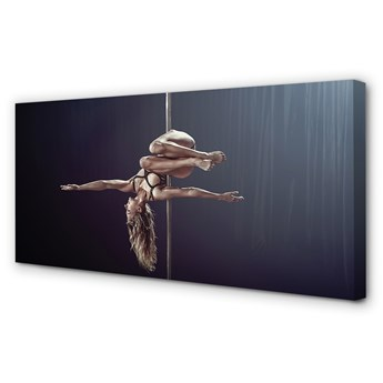 Obrazy na płótnie Taniec rura kobieta