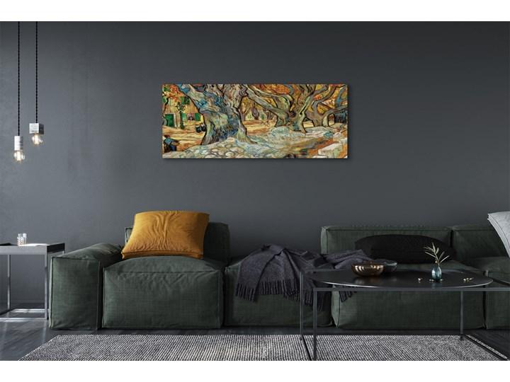 Obrazy na płótnie Sztuka abstrakcyjny miejski rynek Wykonanie Wydruk cyfrowy Wymiary 70x140 cm