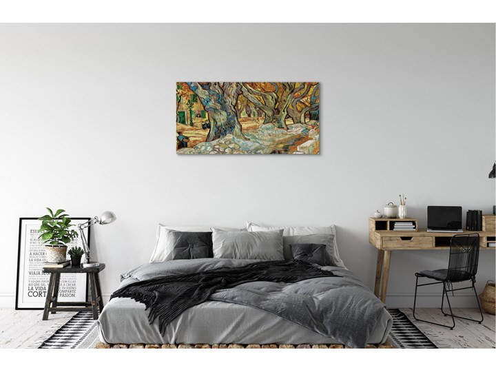 Obrazy na płótnie Sztuka abstrakcyjny miejski rynek Wykonanie Wydruk cyfrowy Pomieszczenie Salon