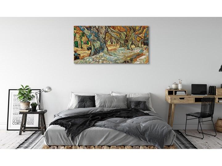 Obrazy na płótnie Sztuka abstrakcyjny miejski rynek Pomieszczenie Salon Wymiary 50x125 cm