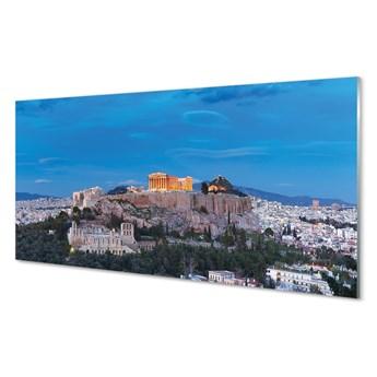 Obrazy na szkle Grecja Panorama Ateny