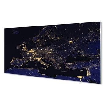 Obraz na szkle Światła mapy niebo