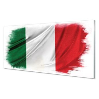 Obrazy na szkle Flaga włochy