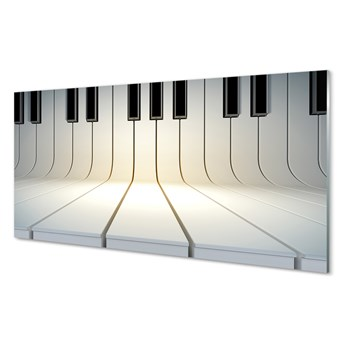 Obraz na szkle Pianino klawisze