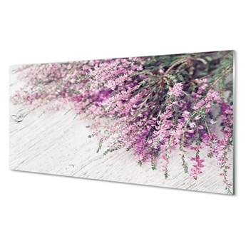 Obrazy na szkle Kwiaty deski