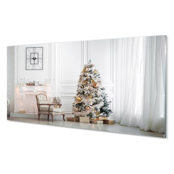 Obraz na szkle Choinka dekoracje