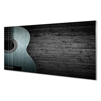 Obraz na szkle Gitara