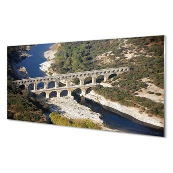 Obrazy na szkle Rzym Akwedukty rzeka