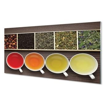 Obraz na szkle Herbaty zioła