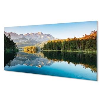 Obraz na szkle Niemcy Góry jezioro las