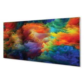 Obrazy na szkle Kolorowe fraktale 3d