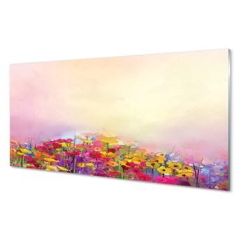 Obraz na szkle Obraz kwiaty niebo