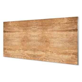 Szklany Panel Drewno słoje sęki