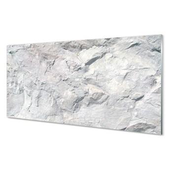 Szklany Panel Kamień beton abstrakcja
