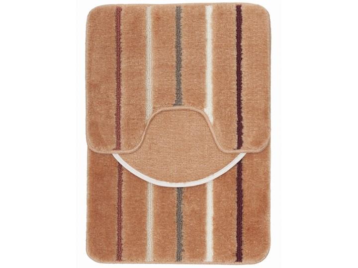 E-floor Komplet łazienkowy Harmony Morelowy 40x50 cm 50x70 cm 47x51 cm Kategoria Dywaniki łazienkowe Kolor Brązowy