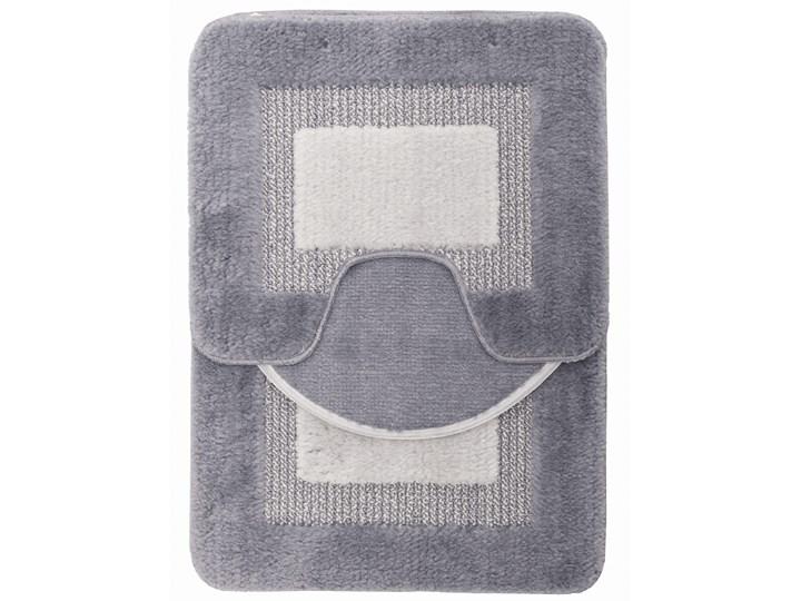 E-floor Komplet łazienkowy Harmony Ramka Szary 40x50 cm 50x70 cm 47x51 cm Kategoria Dywaniki łazienkowe
