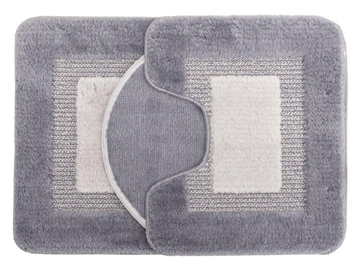 E-floor Komplet łazienkowy Harmony Ramka Szary 47x51 cm 50x70 cm 40x50 cm Kategoria Dywaniki łazienkowe