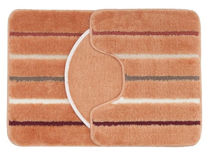 E-floor Komplet łazienkowy Harmony Morelowy 47x51 cm 40x50 cm 50x70 cm Kategoria Dywaniki łazienkowe