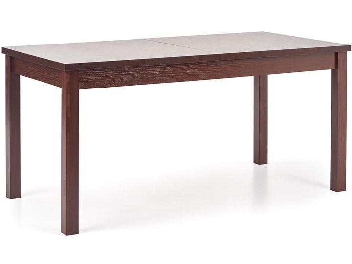 Stół rozkładany Aster - ciemny orzech Wysokość 76 cm Szerokość 75 cm Długość 118 cm Kategoria Stoły kuchenne Styl Rustykalny