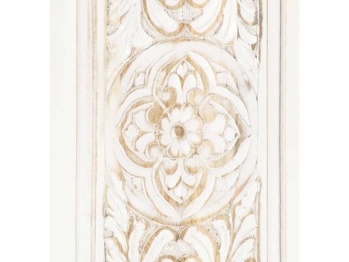 VidaXL Szafa, biała, 120x40x200 cm, lite drewno mango Szerokość 120 cm Głębokość 40 cm Wysokość 120 cm Pomieszczenie Sypialnia