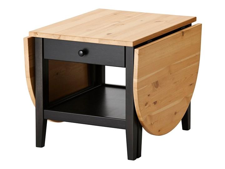 IKEA ARKELSTORP Stolik kawowy, czarny, 65x140x52 cm