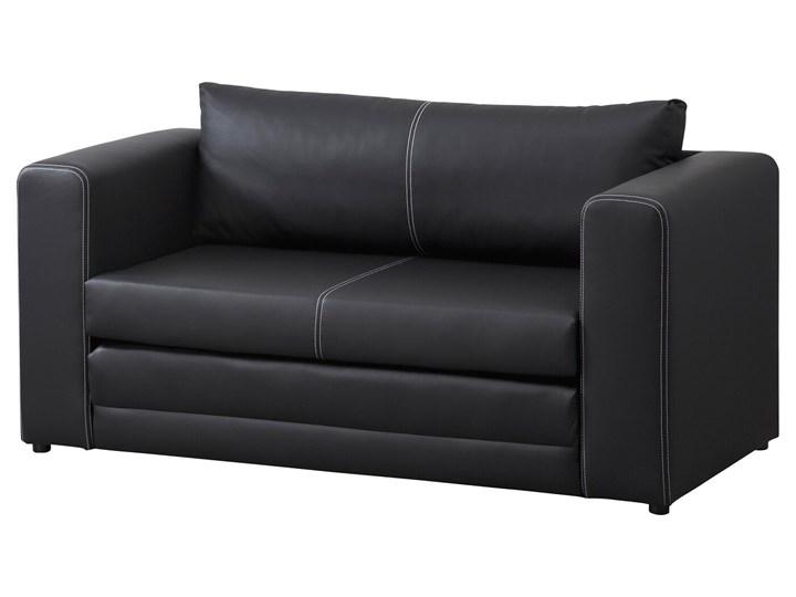 IKEA ASKEBY Sofa dwuosobowa rozkładana, czarny, Szerokość: 149 cm