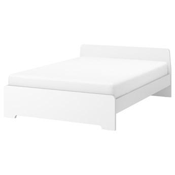 IKEA ASKVOLL Rama łóżka, biały/Lönset, 160x200 cm