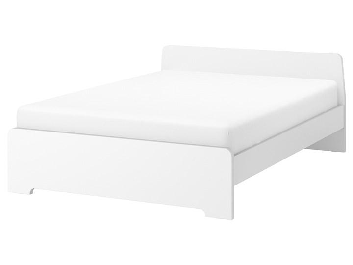ASKVOLL Rama łóżka Łóżko drewniane Kolor Szary Kategoria Łóżka do sypialni