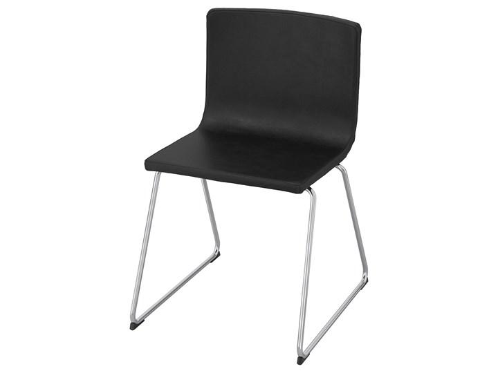 IKEA BERNHARD Krzesło, chrom/Mjuk ciemnobrązowy, Przetestowano dla: 110 kg