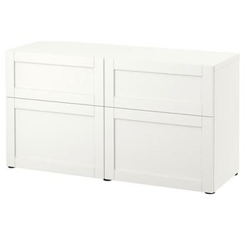IKEA - BESTA Kombinacja regałowa z drzw/szuf