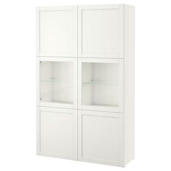 IKEA - BESTA Regał/szklane drzwi