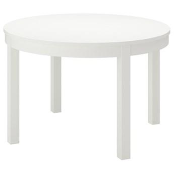 IKEA BJURSTA Stół rozkładany, Biały, 115/166 cm