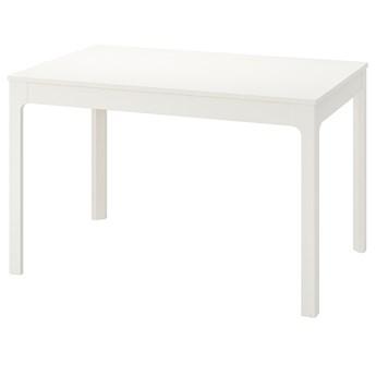 IKEA EKEDALEN Stół rozkładany, biały, 120/180x80 cm