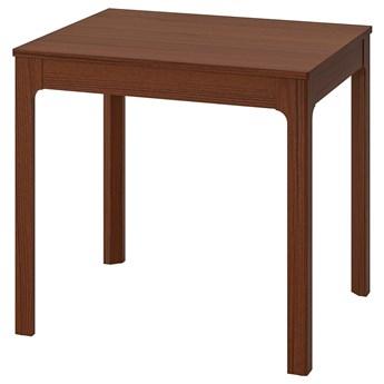 IKEA EKEDALEN Stół rozkładany, brązowy, 80/120x70 cm
