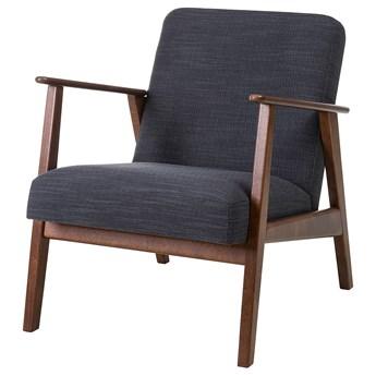 IKEA EKENÄSET Fotel, Hillared antracyt, Szerokość: 64 cm
