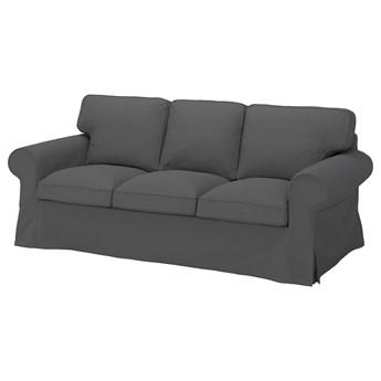 IKEA EKTORP Sofa 3-osobowa, Hallarp szary, Szerokość: 218 cm