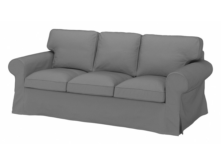 IKEA EKTORP Sofa 3-osobowa, Remmarn jasnoszary, Szerokość: 218 cm