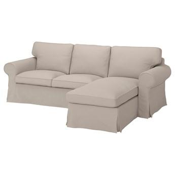 IKEA - EKTORP Sofa 3-osobowa z szezlongiem